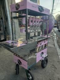 Maquina de curros rosa alegrete