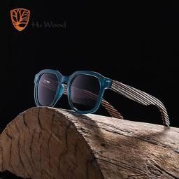 Hu Wood em madeira natural Produto Original importado Unissex