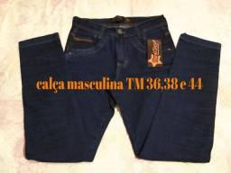 Calça jeans masculina direto de Goiânia.