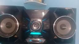 Som sony .Bluetooth.cd.pen drive 600.00 ainda passo.cartão