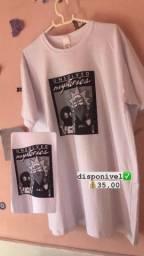 Camisa Ricky e Morty