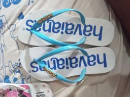 Sandalias 8 reais cada ja usada