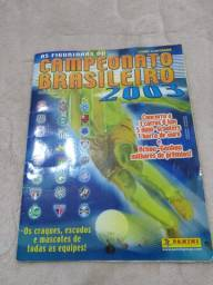 Álbum De Figurinhas Completo Campeonato Brasileiro 2003
