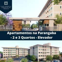 Apartamentos de 2 e 3 quartos na Parangaba/Entrada Facilitada/Proximo ao Shopping