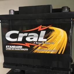 Bateria Cral 45AH seminova (entrega e instalação grátis )