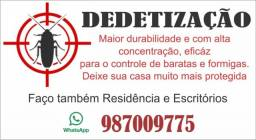 Dedetização residêncial em promoção!!!