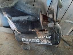 Compressor de 24litros pinador pneumático pistola pra pintura