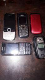 Vendo Lote de aparelhos celulares antigos