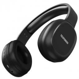 fone de ouvido bluetooth entrada cartao micro-sd tfh500bt preto