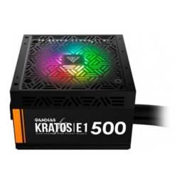 Título do anúncio: Fonte Kratos E1-500W 80 Plus RGB - Gamdias