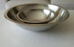 Bowls em Aço Inox