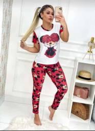 Pijamas de ótima qualidade