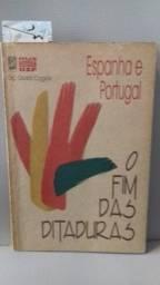 """Livro """"Espanha e Portugal, o fim das ditaduras"""" 231p"""