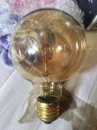 Lâmpada Filamento de Carbono - 2 peças