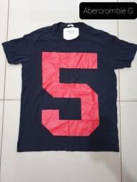 Camiseta Masculina Abercrombie Fitch G Original