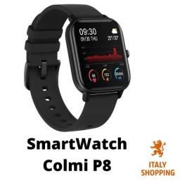 Relógio Inteligente Smartwatch Colmi P8+ pulseira (Grátis)
