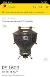 Churrasqueira Apolo 10 semi-nova
