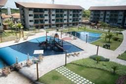 Flat com 2 dormitórios para alugar, 72 m² por R$ 600,00/dia - Praia Muro Alto - Ipojuca/PE