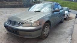 Para retirada de Peças Honda civic  lx 2000