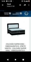 Colchão Super King Terapêutico Magnético Infravermelho