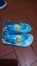 Calçados infantil menino número 21
