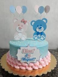 Topo para bolo e lembranças personalizadas