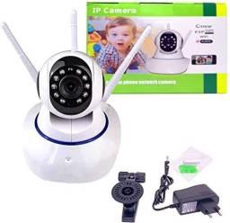 Camera Robo 3 Antenas Ip Wifi 360º