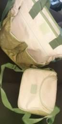Vendo duas bolsas mamãe bebe
