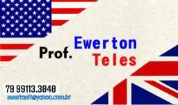 Aula particular de Inglês