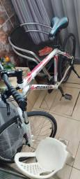 Bicicleta aro 26 Mônaco peças Shimano com documento