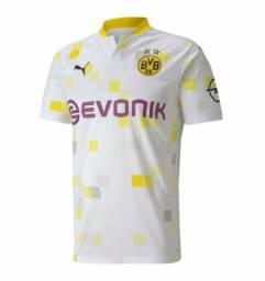 Camisa Borussia Dortmund branca