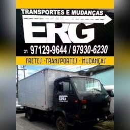 Fretes e Mudanças caminhão Baú de 5 Metros ideal para todo tipo de transporte