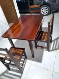Mesa de madeira batistela móveis