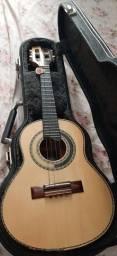 Cavaquinho Claudiney Luthier+ Caser de madeira