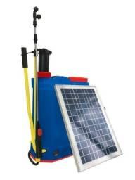 Pulverizador Profissional Elétrico Bivolt e Painel Solar 20L