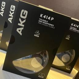 Título do anúncio: Fone akg k414p + Adaptador p2/p10 100% original importado pela harman do brasil