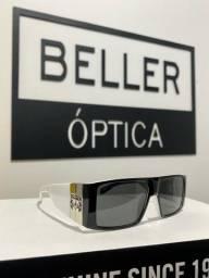 Óculos de sol Evoke Bomber Black White Original