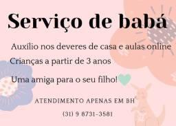 serviço de babá em Belo Horizonte
