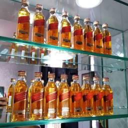 Miniatura Whisky Red Label 50ml - Original e Lacrada