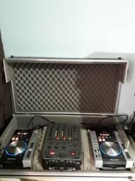CDJ, Mixer e case