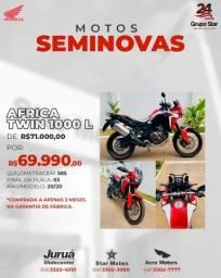 Título do anúncio: África Twin 1000L 2020 ZERO!!