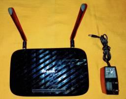 Rede Wireless Router TP-LINK DUALBA ND Gigabit Archer C2 AC75