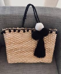 Bolsa de praia com chaveiro!!