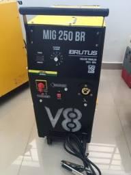 Máquina de Solda MIG 250BR Brutus - V8 Brasil