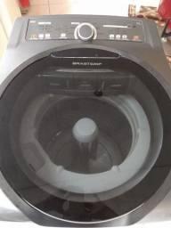 Máquina de Lavar Brastem Ative 11 kg Inox.