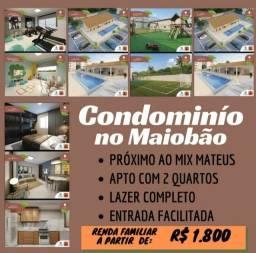 Título do anúncio: A= Apartamento 46 m² em Conjunto Maiobão em Paço do Lumiar,