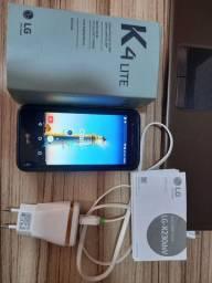 LG K4 completo tudo funcionando sem trincos