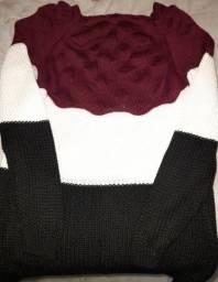 Blusa tricot sereia