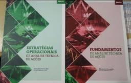 Livros de Análise Técnica de ações estratégias operacionais e fundamentos