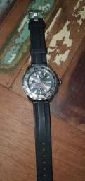 Relógio Nautica pulseira silicone N19512